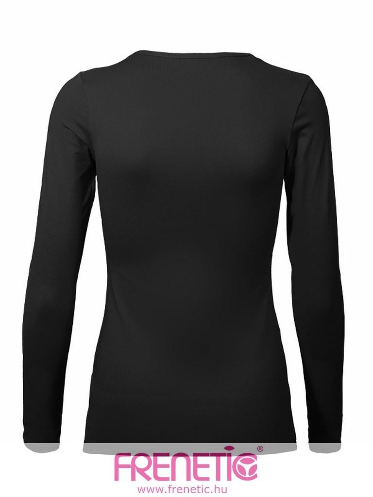 99d1d618e9 HIP-01 kényelmes, női, fekete sport felső