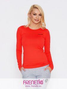 Hip-23 piros hosszú ujjú női póló main image