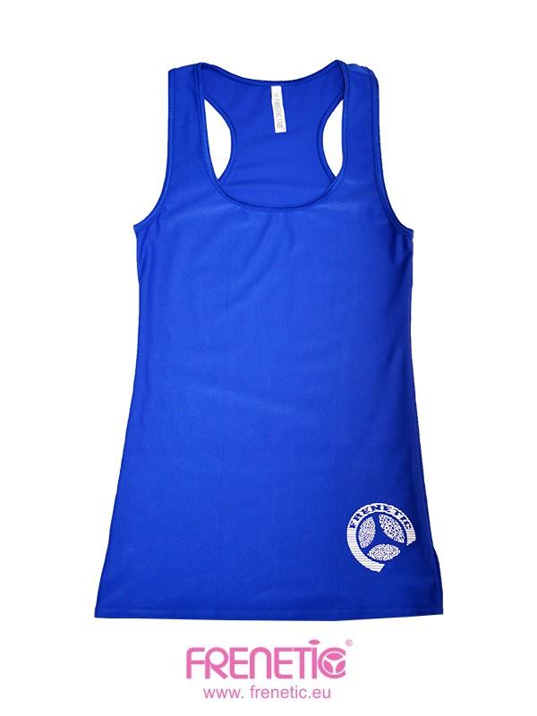 b16ee87281 Hash 42 kék női sport és fitness trikó exclusive tervezés és design