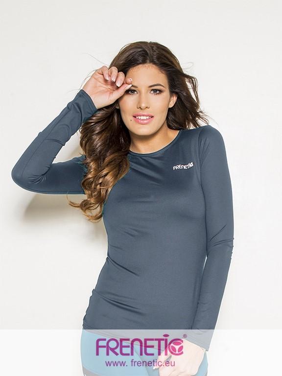 02fd29562e Hip-06 női aláöltöző. 6930 Ft. Sötétszürke színű hosszú ujjú, fitness felső.