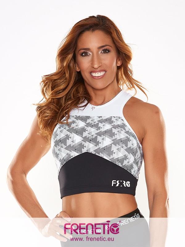 0bc2ba4a2 MIRIAM-01/00 trendi hosszított fitness top