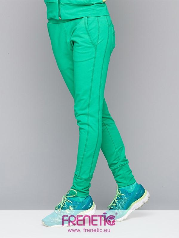2a0231cc33 tulle 57 zöld színű pamut edző hosszú nadrág