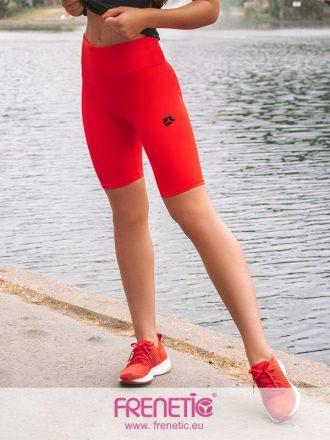 Piros combközépig érő nadrág