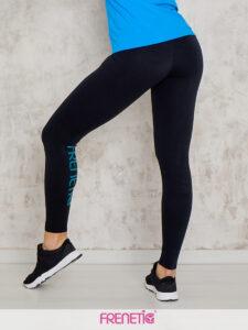 HANA-01/40 fekete női fitness leggings main image