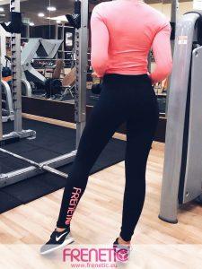HANA-01/24-fekete női fitness leggings main image