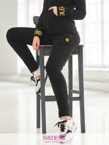 SPORTY-45 sötétkék női pamut pulóver main image