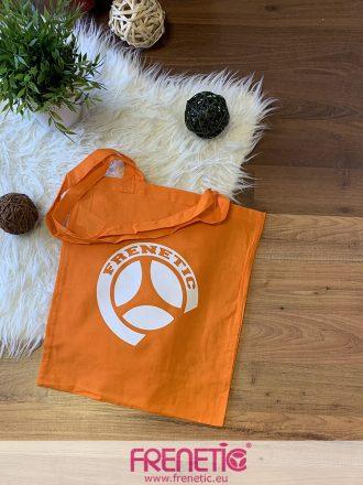narancssárga pamut táska