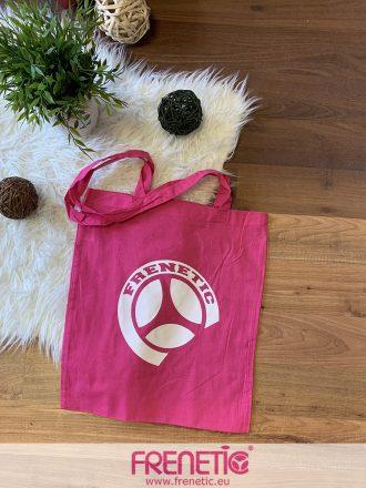 pink pamut táska