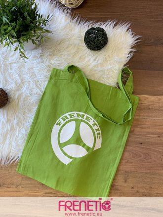 zöld pamut frenetic táska