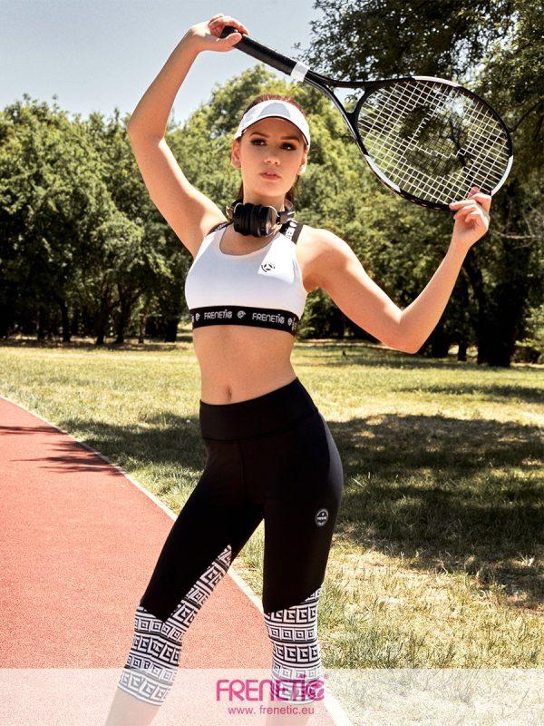 Fekete fehér fitness garnitúra