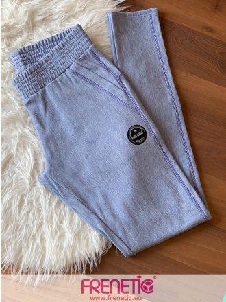 halvány kék pamut tréning nadrág