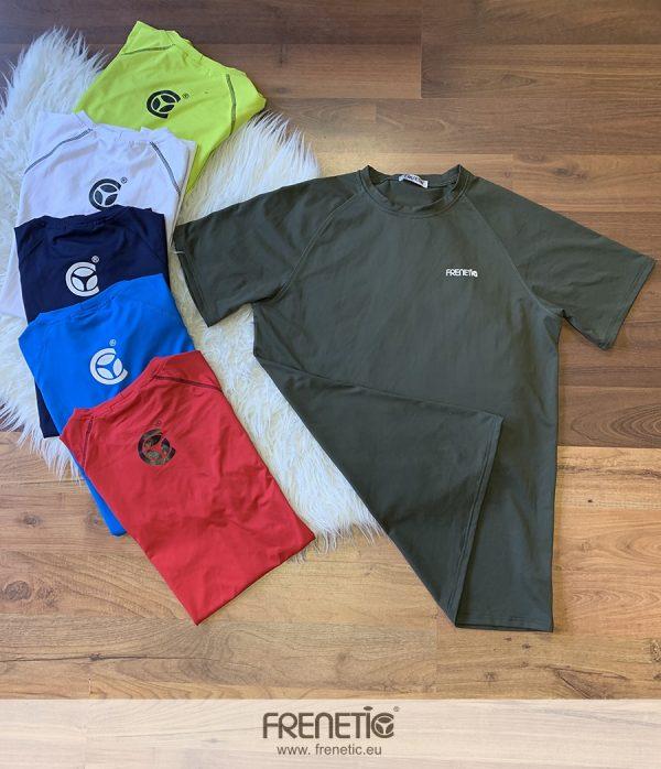 Férfi zöld edző póló