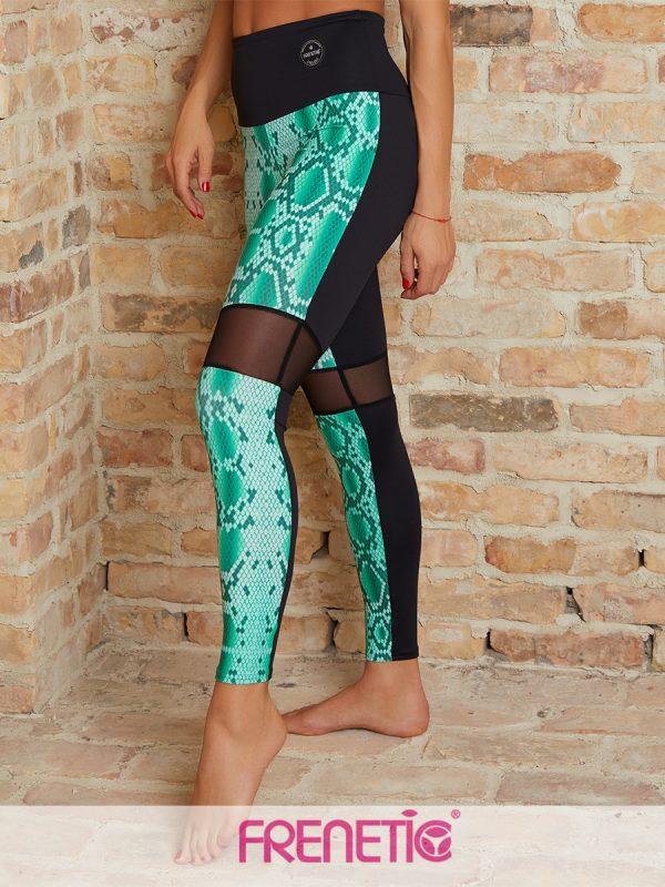 Frenetic kígyómintás leggings